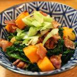 Speed Up Your Weeknight Meals: Roasted Sweet Potatoes with Sauteed Spinach