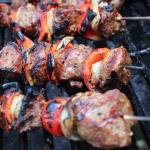 Sweetly Spiced Grilled North African Lamb Kebabs