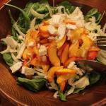 A Summer Getaway to Hudson, NY: Pickled Peach and Fennel Salad