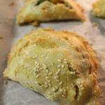 Butternut Squash and Creamed Spinach Empanadas