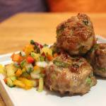 Glistening like Beyoncé: Jerk Chicken Meatballs