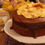 Something Sweet for Mommy: Caramel Cake with Pineapple Flowers