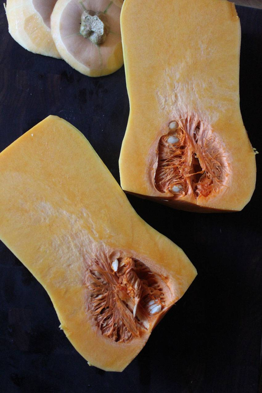 Butternut Squash and Apple Puree // Runaway Apricot