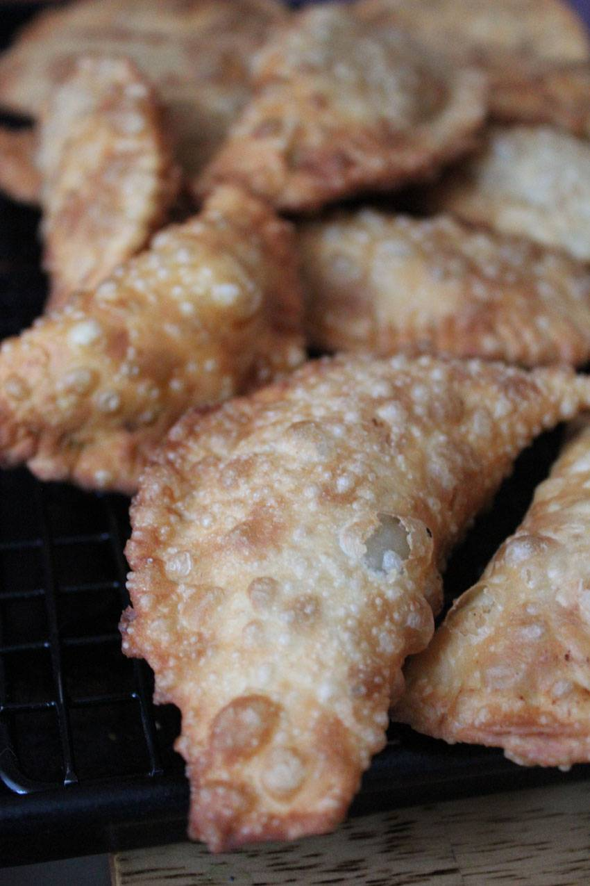 Fried Empanadas Recipe — Dishmaps