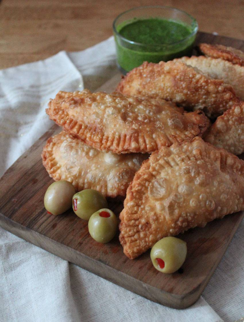 Pi, Pie and Fried Beef Empanadas