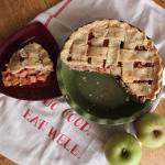 Gingered Apple and Rhubarb Pie // Runaway Apricot