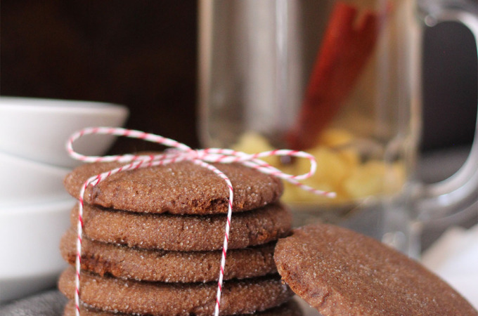Ginger Spice Cookies | Runaway Apricot