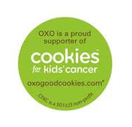 OXO Cookies for Kids' Cancer