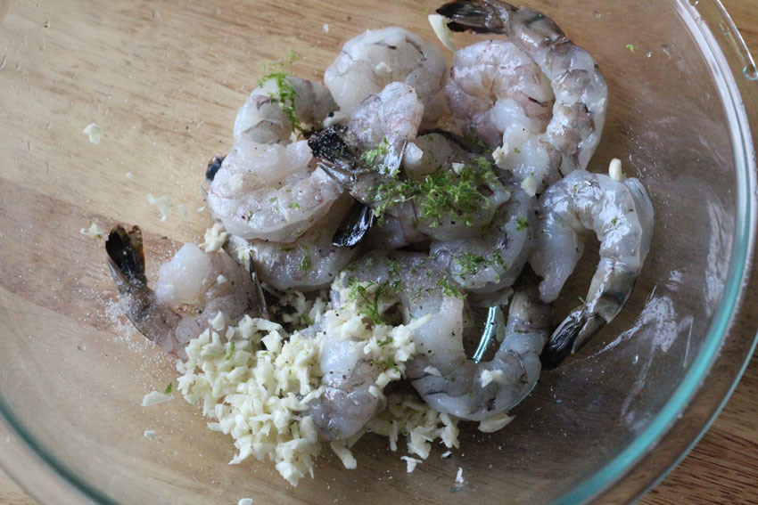 Garlic-Lime Shrimp Meal Prep