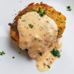 Cod Fish Cakes with Spicy Mayo