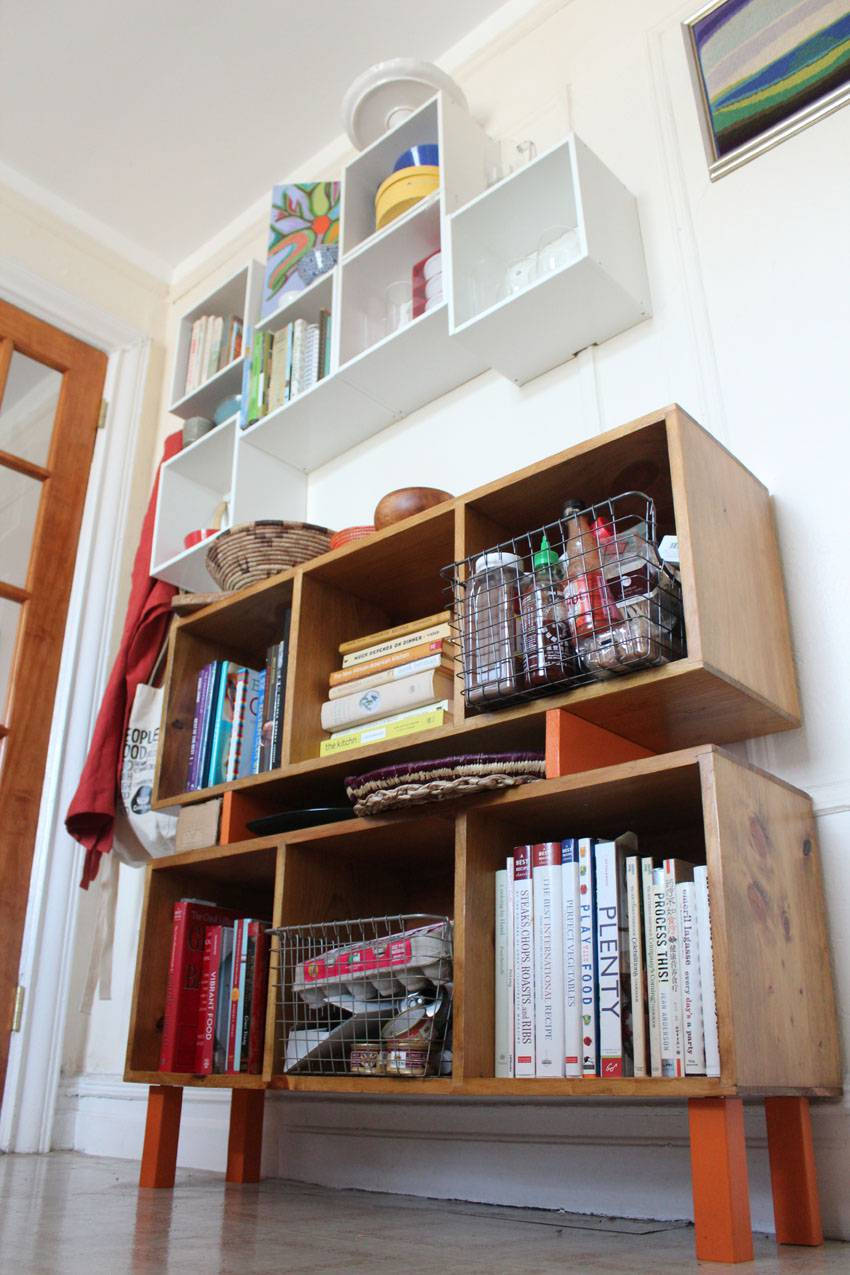 A Diy Home For My Cookbooks Runaway